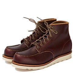 Classic Moc - Oxblood - Red...